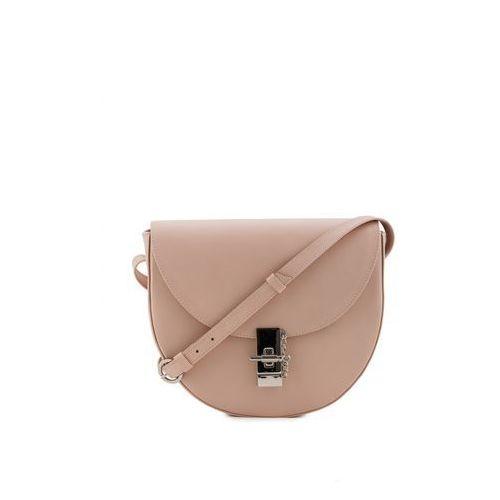Jasnoróżowa torebka na ramię - Franco Bellucci