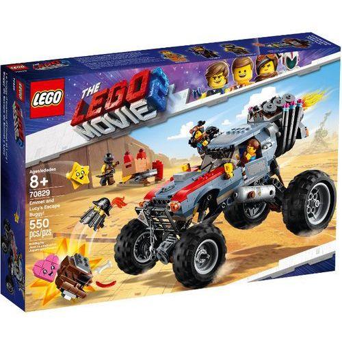 70829 ŁAZIK EMMETA I LUCY (Emmet and Lucy's Escape Buggy!) KLOCKI LEGO MOVIE 2