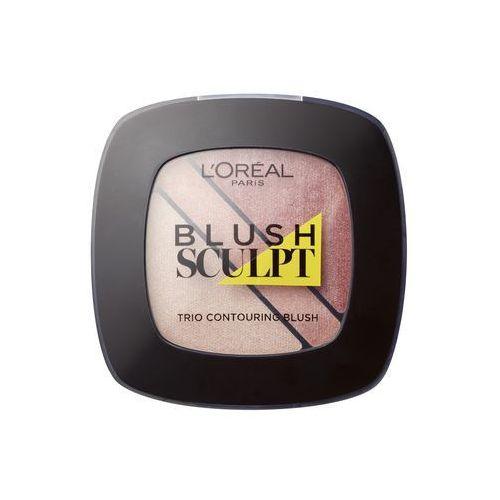 L'Oréal Paris - Róż do policzków- Blush Sculpt Trio Contouring Blush 101