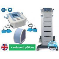 BTL-4825M2 Combi Smart aparat do elektroterapii z elektrodiagnostyką i magnetoterapii FMF z solenoidem 60cm