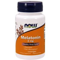 NOW Melatonin 3 mg 180 kaps (do ssania)