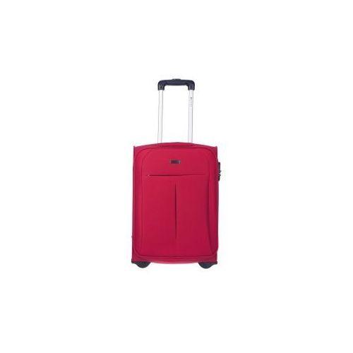PUCCINI walizka mała/ kabinowa z kolekcji LATINA miękka 2 koła materiał Polyester zamek szyfrowy, EM50308 C