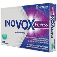 Pastylki Inovox Express smak miętowy pastylki do ssania 24szt.