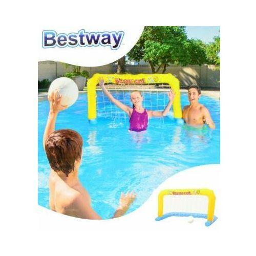 Dmuchana bramka do piłki wodnej + piłka Bestway, 52123