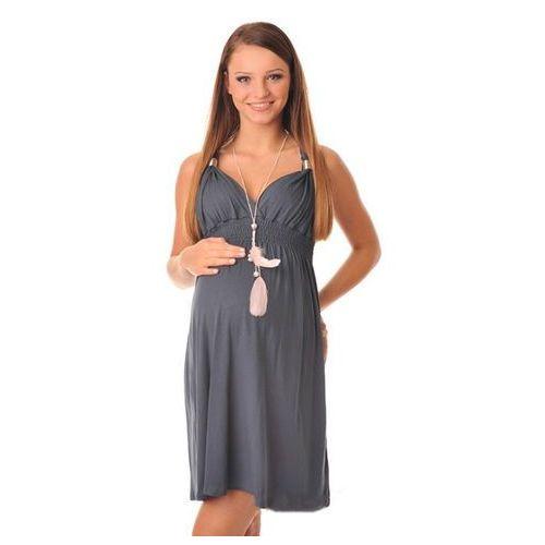 Sukienka ciążowa CATE GREY, kolor niebieski