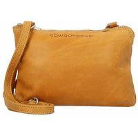 Cowboysbag Bag Adabelle Torba na ramię skórzane 24 cm amber ZAPISZ SIĘ DO NASZEGO NEWSLETTERA, A OTRZYMASZ VOUCHER Z 15% ZNIŻKĄ