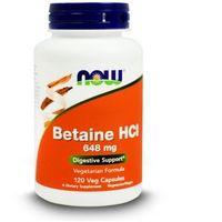 Kapsułki Betaine HCI 648mg 120 kapsułek