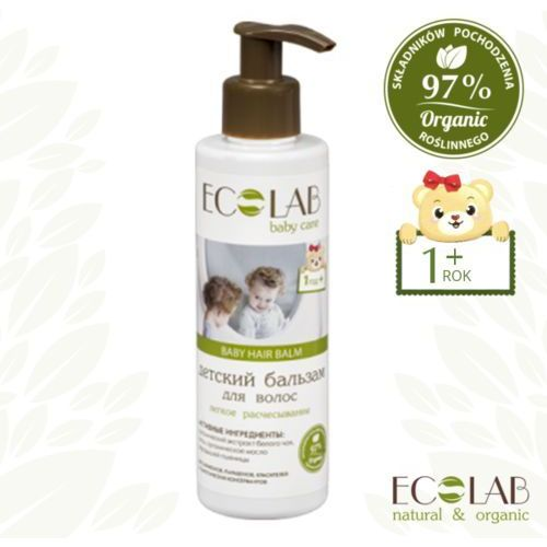 Le cafe de beaute Eo laboratorie baby care - balsam do włosów dla dzieci od 1+ - lekkie rozczesywanie