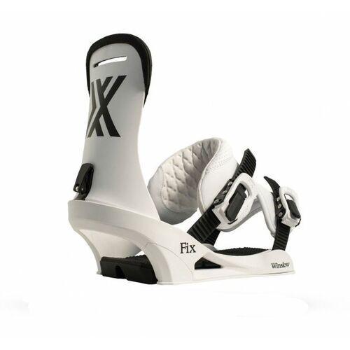 Fix bindings Wiązania snowboardowe fix winslow (white) 2019