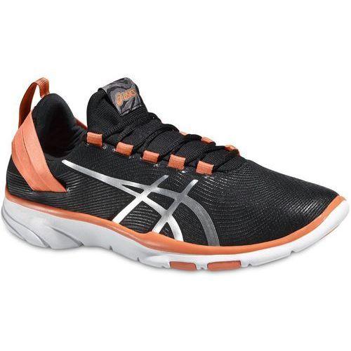 Damskie buty treningowe gel-fit sana 2 czarne 37,5 Asics