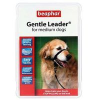 Beaphar gentle leader - obroża uzdowa - kolor czarny rozmiar m (5020562025155)