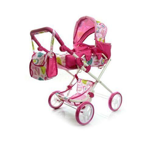 Wózek dla lalek Milly Mally Paulina pink