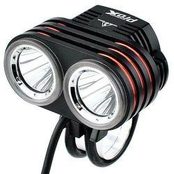 Prox Lampka avior ii czarny-srebrny