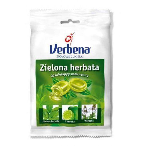 VERBENA Zielona herbata cukierki ziołowe 60g