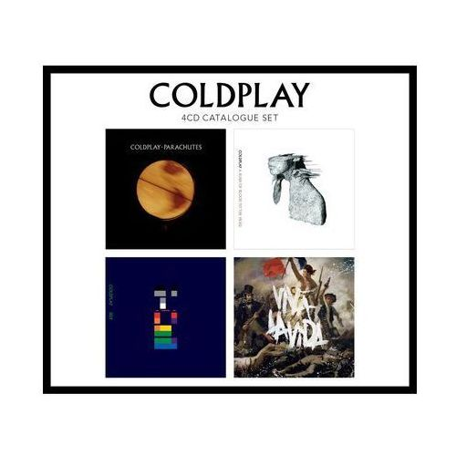 Emi music poland Coldplay - 4cd catalogue set - zaufało nam kilkaset tysięcy klientów, wybierz profesjonalny sklep