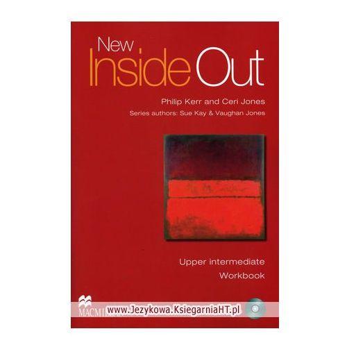 New inside out upper intermediate Workbook with Audio Cd, oprawa miękka