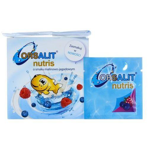 Orsalit nutris (smak malinowo-jagodowy) 10 sasz