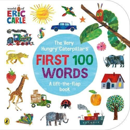 The Very Hungry Caterpillars First 100 Words - Carle Eric - książka (9780241456811)
