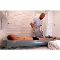 Żyj łatwiej Przenośna wanna rosshe do mycia pacjenta w łóżku