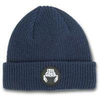 czapka zimowa CRAB GRAB - Circle Patch Beanie Navy (NVY) rozmiar: OS