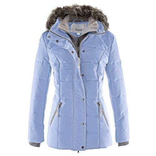 Kurtka zimowa 2 w 1 perłowy niebieski marki Bonprix