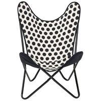 Krzesło butterfly w kropki -  marki Bloomingville