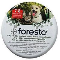 Bayer Foresto Obroża 1,25g + 0,56g dla kotów i psów o masie ciała poniżej 8kg - tak \ 38cm