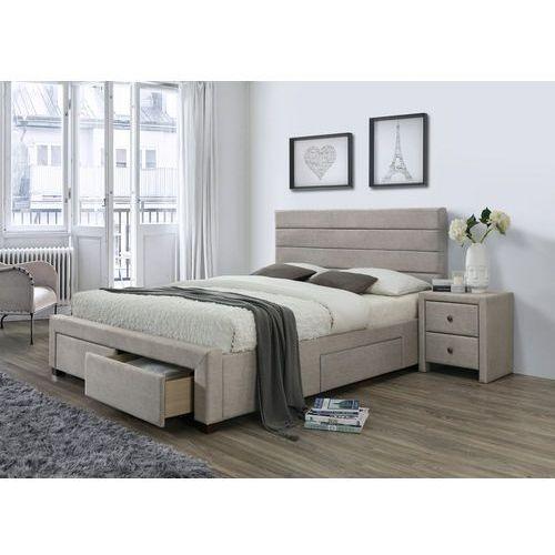 Tapicerowane łóżko Z Szufladami Kayleon Halmar