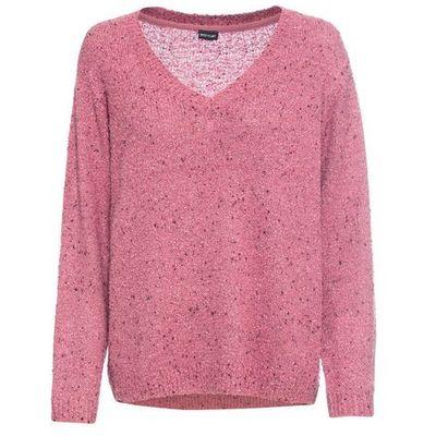 swetry damskie sweter w kolorowe trojkaty w kategorii