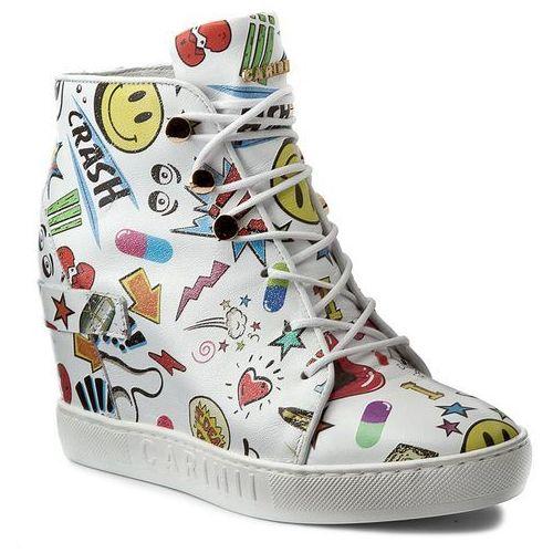 81dcdf55 Sneakersy - b3940 biały kolorowy, , 37-40 (Carinii) opinie + ...