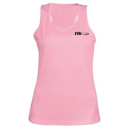 TTK TOP CAPSULE PINK- koszulka tenisowa R. M