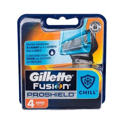 Gillette Fusion Proshield Chill wkład do maszynki 4 szt dla mężczyzn - Najlepsza oferta