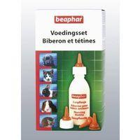 nursing set butelka+smoczki zestaw do karmienia młodych zwierząt marki Beaphar