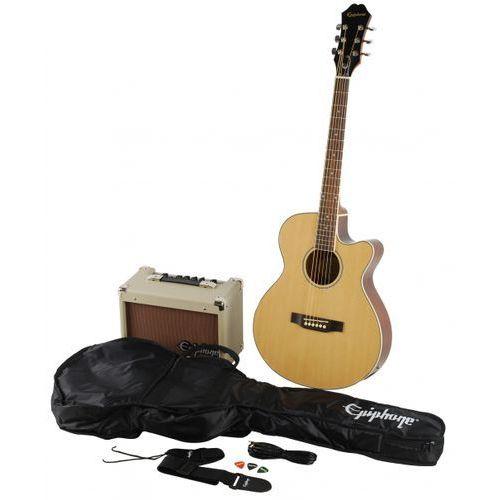 Epiphone PR4E NA gitara elektroakustyczna (zestaw)