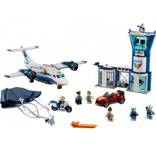 60210 BAZA POLICJI POWIETRZNEJ (Air Base) KLOCKI LEGO CITY