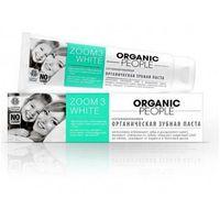 Organic people pasta organiczna do zębów zoom 3 white 100ml marki Planeta organica, rosja