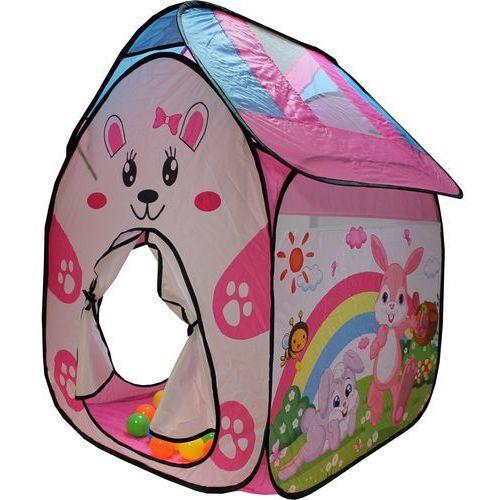 Kąciki zabaw namiot (50 piłeczek, 6 cm) marki 4kidz