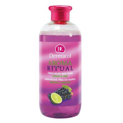 Dermacol Aroma Ritual Grape & Lime pianka do kąpieli 500 ml dla kobiet - Rewelacyjny rabat