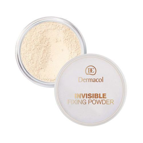 Dermacol invisible fixing powder | utrwalający puder transparentny - light 13,5ml - Bombowa oferta
