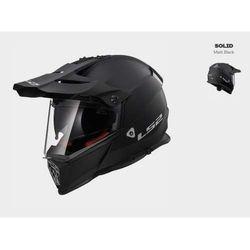 KASK MOTOCYKLOWY CROSS ENDURO LS2 MX436 PIONEER MATT BLACK czarny matt, kolor czarny