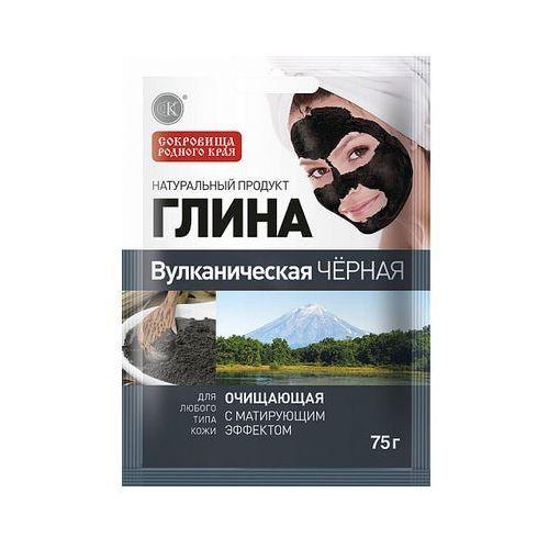 Fitokosmetik, rosja Glinka wulkaniczna czarna oczyszczająca 75g