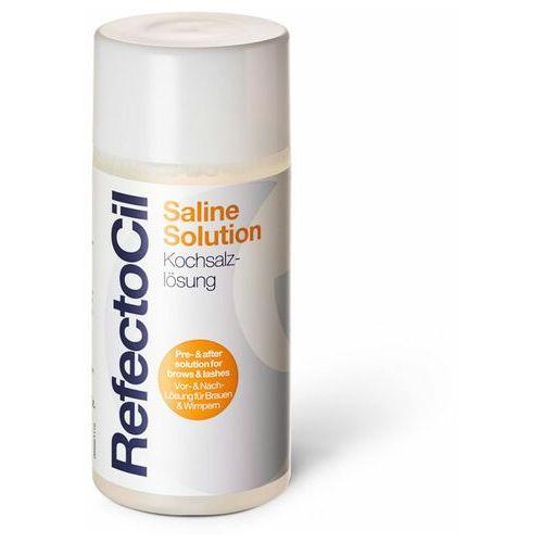 Refectocil saline solution | płyn oczyszczający do rzęs i powiek przed henną lub trwałą 150ml - Znakomita promocja