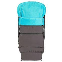 Emitex śpiworek dziecięcy combi premium, szaro-niebieski