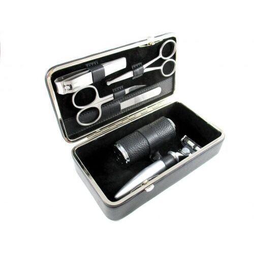NAPPA BLACK - luksusowy, 6-częściowy zestaw do golenia i manicure, SOLINGEN-Kiehl, 5981021 505H - Sprawdź już teraz