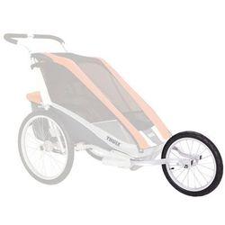 Thule jogging set cougar 2/cheetah 2 akcesoria do przyczepki rowerowej szary/czarny akcesoria do przyczepek