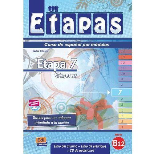 Etapas 7 podręcznik ćwiczenia CD audio, Editorial EDINUMEN