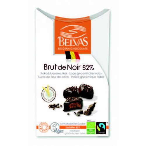 Czekoladki gorzka czekolada 82% BIO 100g. - BELVAS - Niesamowita obniżka