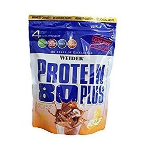 protein 80 plus 500g hazelnut nougat weider opinie. Black Bedroom Furniture Sets. Home Design Ideas