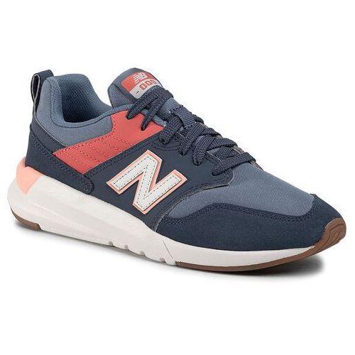 Sneakersy NEW BALANCE - WS009RD1 Granatowy