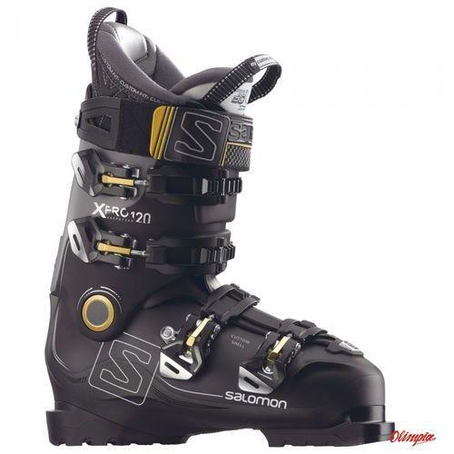 Buty narciarskie x pro 120 2017/2018 black Salomon